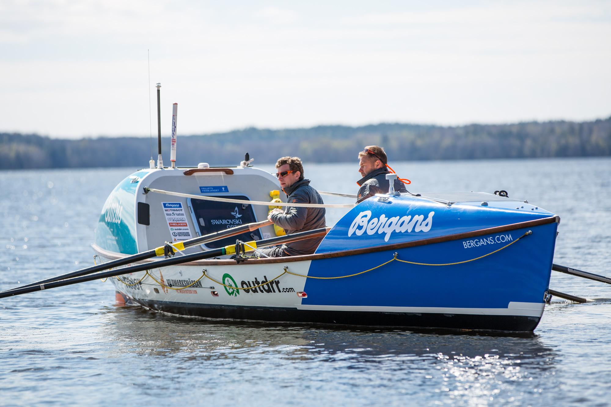 Boka eller hyr Oceanroddbåten Albedo